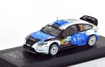 Ford Focus RS WRC Belgium TAC 2013 Diecast Club 1:43