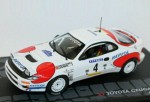 Toyota Celica Turbo 4WD Rally Catalunya 1992  Altaya 1:43