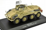 Sd.Kfz. 234/1 2. Pz.Div. Somme France 1944 Eaglemoss 1:43