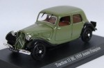 Citroen Traction 11 BL Armee Francaise 1939 Atlas 1:43