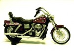 Harley Davidson Dyna Wide Glide dark red