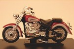 Yamaha Classic V-Star  dark red Cararama 1:43