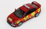 Mitsubishi Lancer EVO X 2011 Humberside and West Midlands Fire Department IXO 1:43