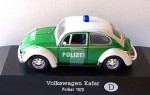 Volkswagen Kafer Polizei 1970 Atlas 1:43