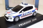 Peugeot  308 Police Provence Moulage 1:43