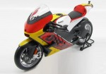 Ducati Desmosedici World Cycle Series 2011 yellow/red Maisto 1:6