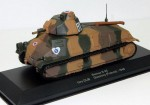 Somua S-35 1st DLM Quesnoy France 1940 Eaglemoss 1:43