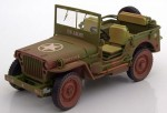Jeep Willys US Army 1942 dirty Triple9 1:18