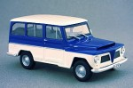 Jeep Rural 1968 Whitebox 1:43
