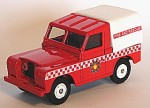 Land rover Fire & Rescue Lledo 1:43