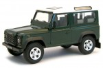Land Rover Defender 90 dark green Cararama 1:43