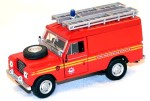 Land Rover Defender 109 Fire and Rescue Service Cararama 1:43