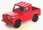 Land Rover Royal Mail Corgi 1:43