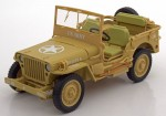 Jeep Willys Casablanca 1943 sand Triple9 1:18
