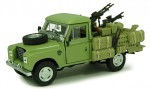 Land Rover Defender 109 military Cararama 1:43
