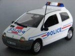 Renault Twingo Police Nationale Hachette 1:43