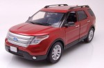 Ford Explorer XLT 2015 red Motormax 1:18