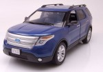 Ford Explorer XLT 2015 blue Motormax 1:18