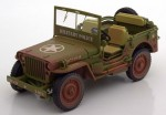Jeep Willys Military Police 1941 dirty Triple9 1:18