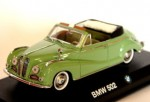 BMW 502 cabrio green Detail Cars 1:43