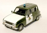 Renault 4 Guardia Civil Altaya 1:43