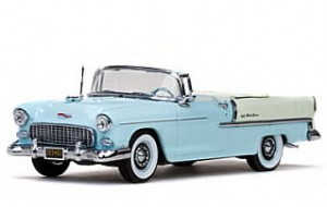 Chevrolet Bel Air Convertible 1955 Vitesse 1:43