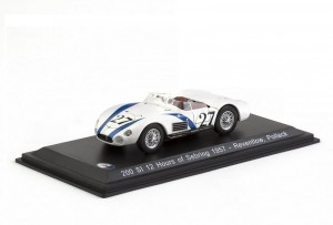 Maserati 200 SI 12 Hours of Sebring 1957  Leo Models 1:43