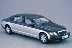 Maybach 62 2009 Whitebox 1:43