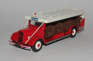 Citroen T45 Courant d'air 1952 Hachette 1:43