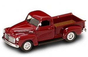 GMC Pickup 1950 red
