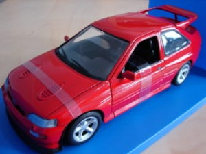 Ford Escort Cosworth 1992  red UT Models 1:18
