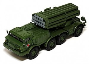 BM-27 Uragan Eaglemoss 1:72