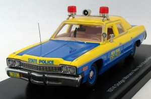 Dodge Monaco New York State Police 1974 Auto World 1:43