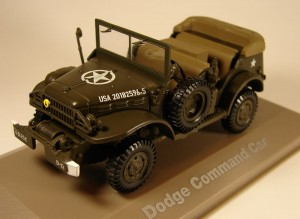 Dodge WC57 Command Car Atlas 1:43
