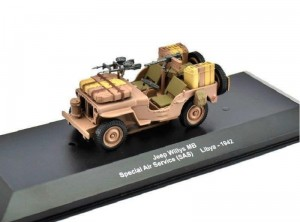 Jeep Willys MB SAS Libia 1942 Eablemoss 1:43