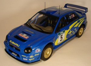 Subaru Impreza WRC Rally New Zealand 2001 R.Burns/ R.Reid Altaya IXO 1:18