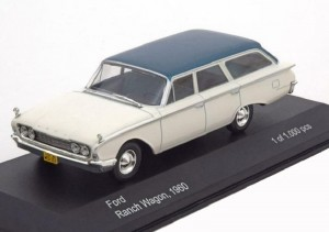 Ford Ranch Wagon 1960 Whitebox 1:43