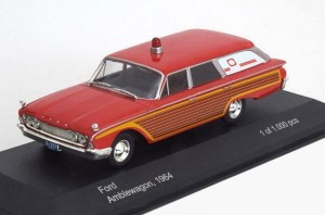 Ford Ambleagon 1964 Whitebox 1:43