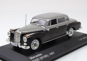 Mercedes-Benz 300D (W189) 1957 Whitebox 1:43