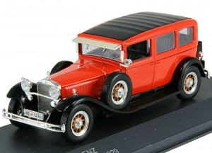 Mercedes-Benz Typ Nurburg 460 N (W08) 1929 Whitebox 1:43