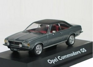 Opel Commodore B GS Schuco 1:43