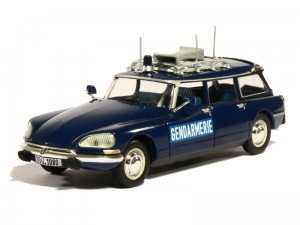 Citroen DS 21 Break 1974 Gendarmerie Norev 1:43