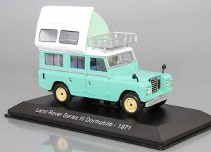 Land Rover Series III Dormobile 1971 Hachette 1:43