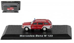 Mercedes-Benz W123 Atlas 1:72