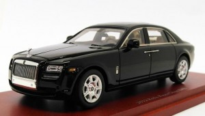 Rolls Royce Ghost EWB 2012 black True Scale 1:43