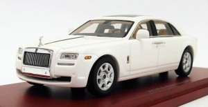 Rolls Royce Ghost EWB 2012 white True Scale 1:43