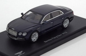 Bentley Flying Spur W12 2013 dark sapphire Kyosho 1:43