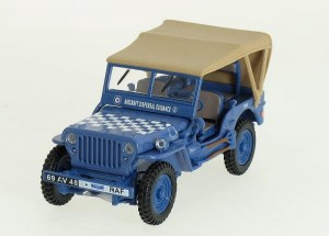 Jeep Willys RAF Cararama 1:43