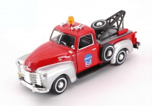 Chevrolet C3100 Pick up Tow Truck red Cararama 1:43