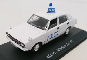 Morris Marina 1.8TC Hampshire Constabulary  Police  Atlas 1:43
